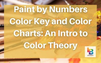 Paint by Numbers Color Key and Color Charts: An Intro to Color Theory