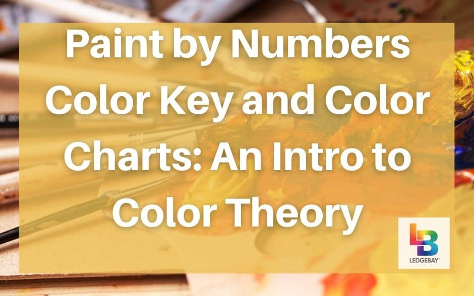 paint by numbers color key