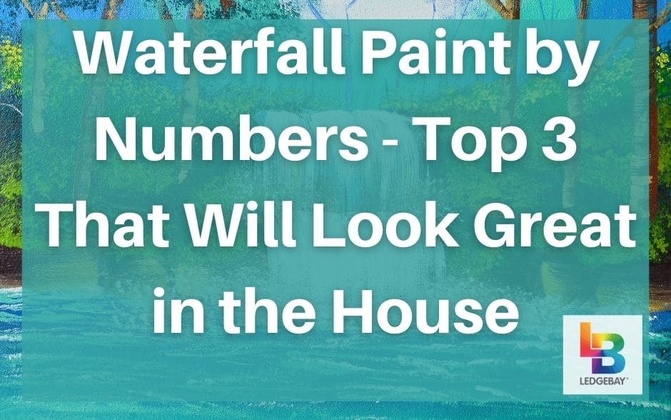 waterfall paint by numbers