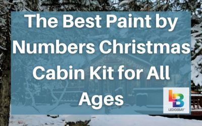 The Best Paint by Numbers Christmas Cabin Kit for All Ages